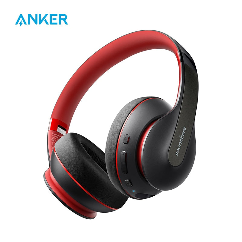 Anker Soundcore Life Q10 Wireless Bluetooth Headphones, Over Ear and Foldable, Hi-Res Certified Sound, 60-Hour Playtime - 24SevenDeals