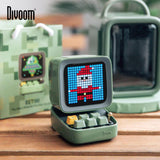 Divoom Ditoo Retro Pixel art Bluetooth Portable Speaker Alarm Clock DIY LED Display Board, Christmas gift Home light decoration - 24SevenDeals