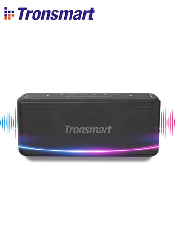 Tronsmart Mega Pro Bluetooth Speaker 60W Portable Speaker Enhanced Bass TWS Column with NFC, IPX5 Waterproof, Voice Assistant - 24SevenDeals