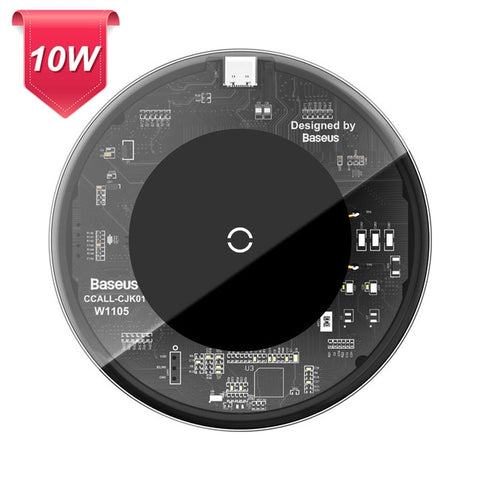 Baseus 15W Qi Magnetic Wireless Charger for iPhone 12 Mini 11 Pro Max Xs Induction Fast Wireless Charging Pad for Samsung Xiaomi - 24SevenDeals