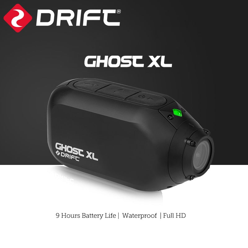 Drift Ghost XL Action Camera Live Streaming Vlog Sport 1080P Motorcycle Wearable Bike Bicycle Helmet Police Cam WiFi BT Video - 24SevenDeals