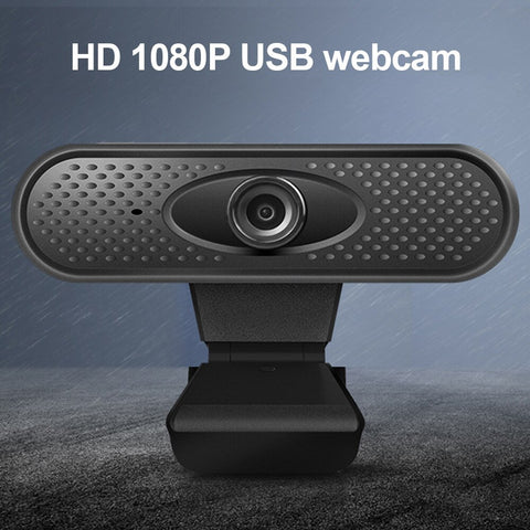 Willkey Full HD 1080P Webcam USB Pc Computer Camera with Microphone Driver-free Video Webcam for Online Teaching Live Broadcast - 24SevenDeals