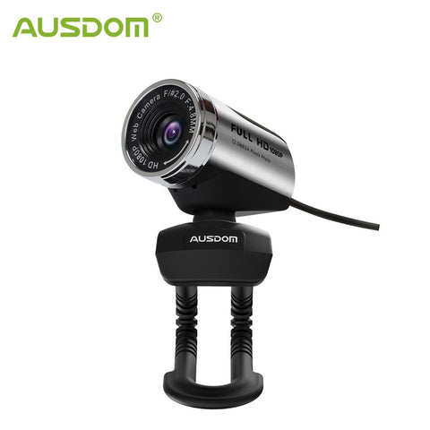 1080P Full HD Webcam with Microphone USB 2.0 PC Web Camera for Skype Streaming Live Laptop Broadcast Computer Camera - 24SevenDeals