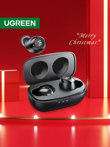 UGREEN HiTune TWS Headphones Wireless Bluetooth Earphones aptX with Qualcomm Chip True Wireless Stereo Earbuds Headset Headphone - 24SevenDeals