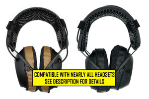 HEATSYNC | A Sweat-Wicking, Silver-Embedded Fabric Ear Pad Cover for Headsets