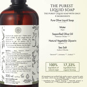 Pure Olive liquid soap - TRIVESA SRL