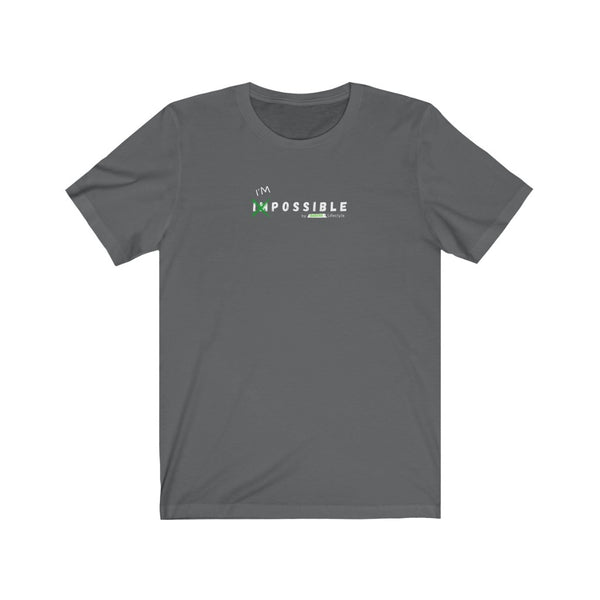 I'M POSSIBLE by Redacted Lifestyle - Unisex Jersey Short Sleeve Tee (Dark)