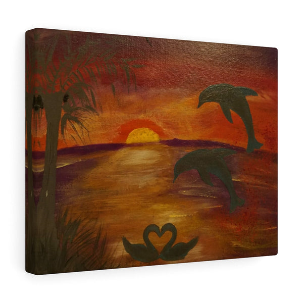 Sunset by Reine KKL - Canvas Gallery Wraps