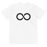Om∞ga T-Shirt - Black Logo on White