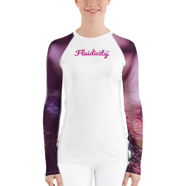 Women's Rash Guard by Fluidicity