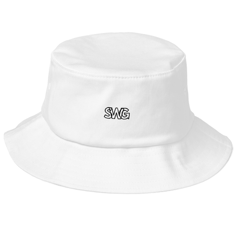 Simply Swag Logo Old School Bucket Hat