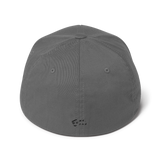Mr. Dad Structured Twill Cap (Black 3D Icon)