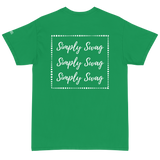 Simply Swag Boxed Cursive Logo Short Sleeve T-Shirt