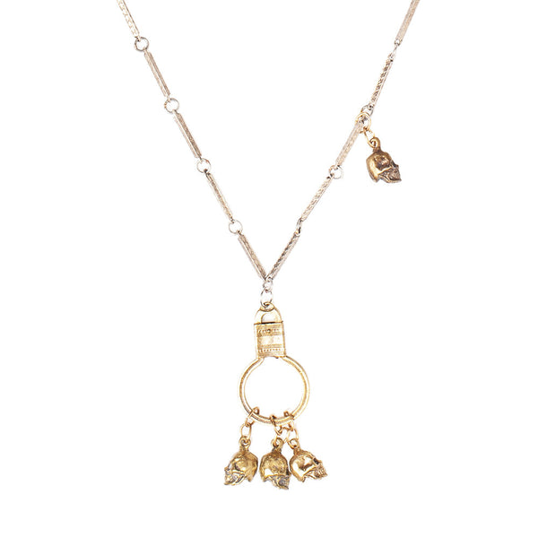 Skulls & FOB Necklace