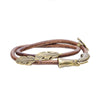 Image of Feather Leather Bracelet