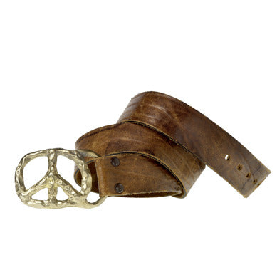 Peace Sign Belt