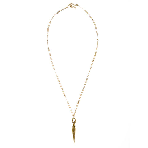 Eagle Claw & Sword Necklace