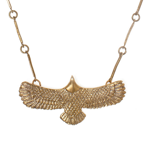 Bird Landing Necklace