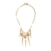 Image of Scarab & Spikes Necklace