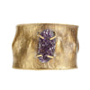 Image of St Barths Pod Cuff with Druzy
