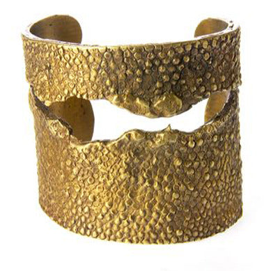 Large Stingray Cuff with Tear