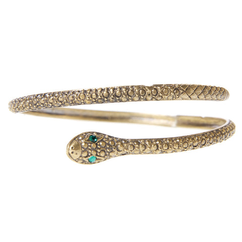 Textured Serpent Bangle