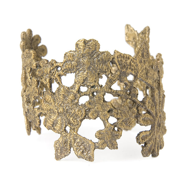 Small Antique Lace Cuff