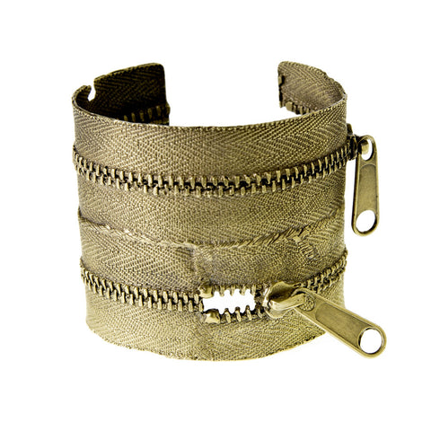 Large Zipper Cuff