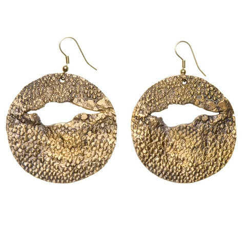 Stingray Cutout Earrings