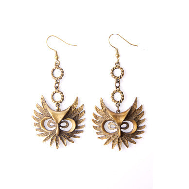 Owl Mask Earrings