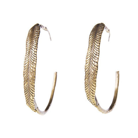 Feather Hoops