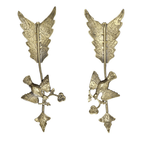 Dove & Arrow Earrings