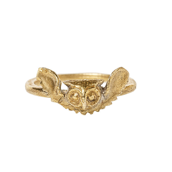 Victorian Owl Ring