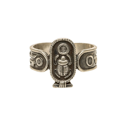 Reclaimed Sterling Egyptian Luck Ring