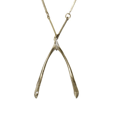 Wishbone Necklace