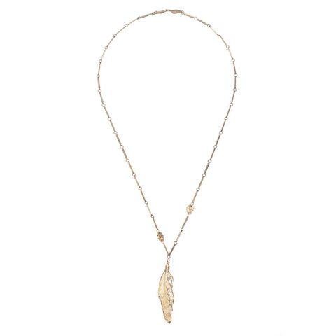 Large Costa Rican Feather Necklace