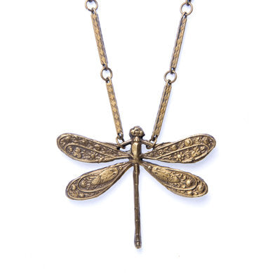 Nouveau Dragonfly Necklace