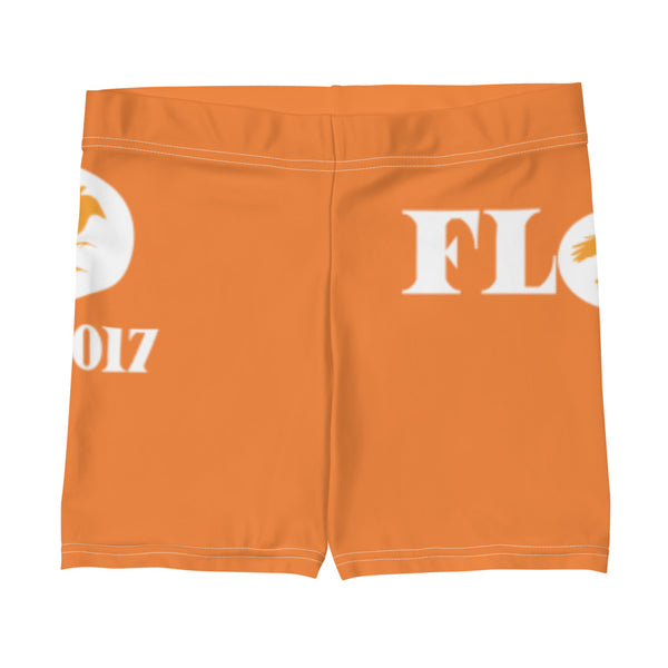 Flow Biker Shorts - Orange