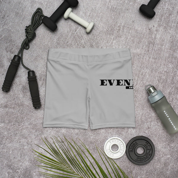 Grey Evenflow Biker Shorts