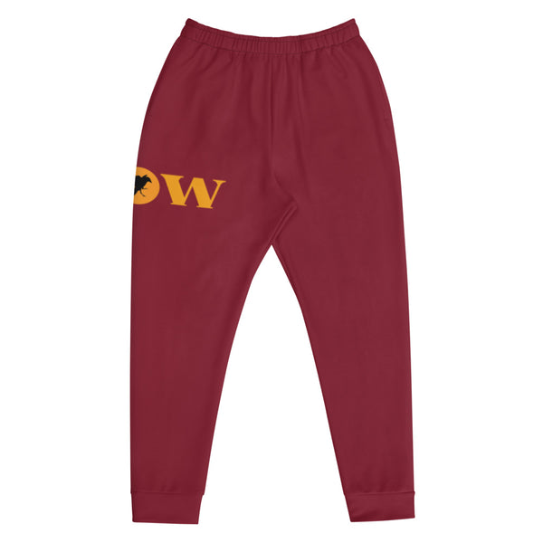 Flow Joggers - Maroon/Gold