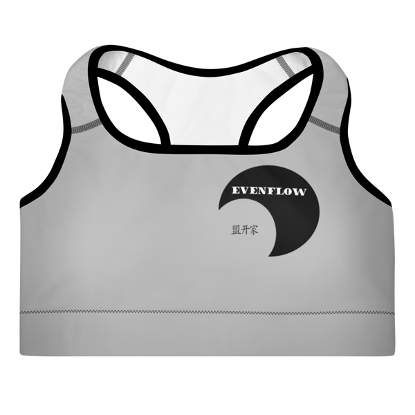 Evenflow Sports Bra Grey