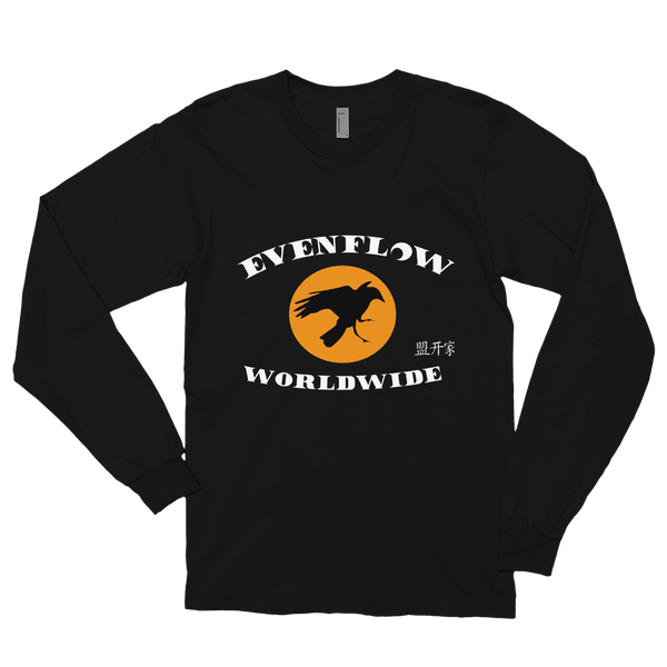 Evenflow Full Moon Long sleeve t-shirt Black/Orange