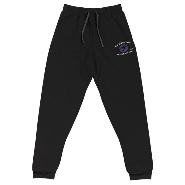Evenflow Stitched Joggers Purple