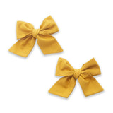 2PK Big Cotton Clips - Aztec Gold