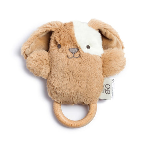Wooden Baby Teether - Dog