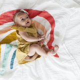 Muslin Cotton Swaddle - Rainbow