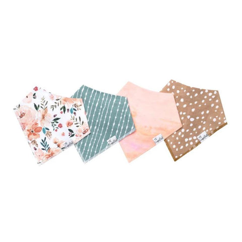 Autumn Baby Bandana Bib Set