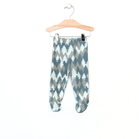 Forest Footed Pants - Lake