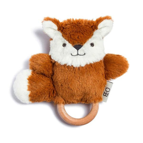 Wooden Baby Teether - Fox