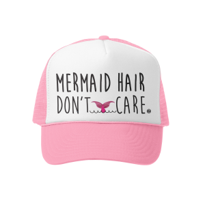Mermaid Hair / Dont CareTrucker Hat Mini